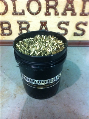 Once Fired Bulk Brass Cases, Bulk Reloading Brass Colorado